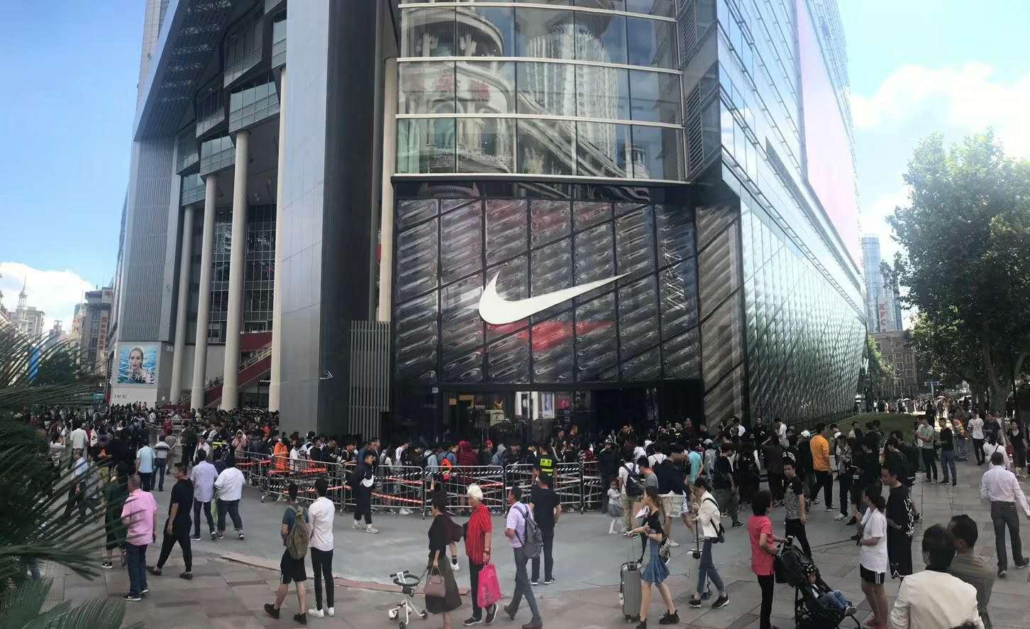 Shanghai NIKE flagship store