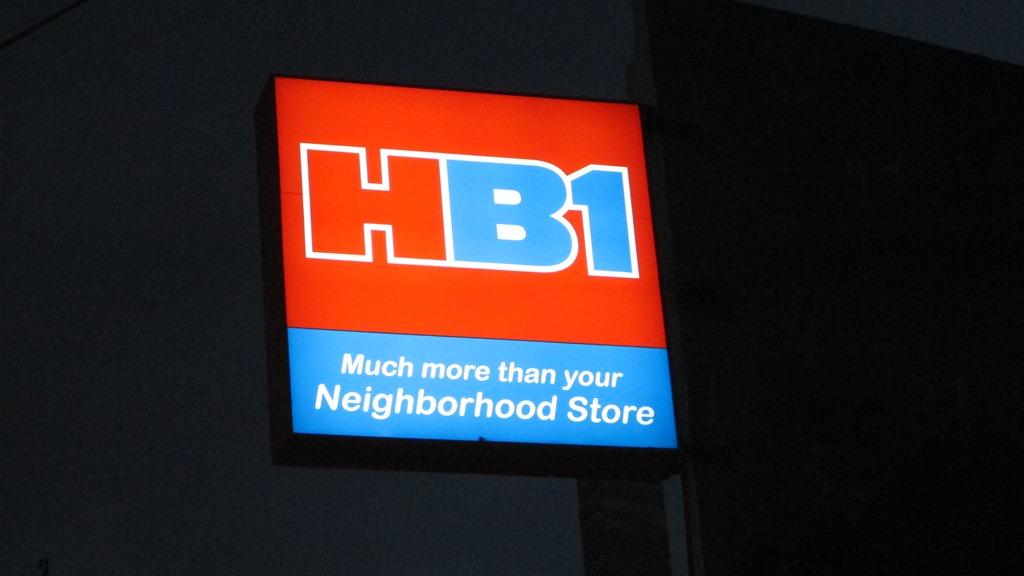 Philippine HB1 supermarket