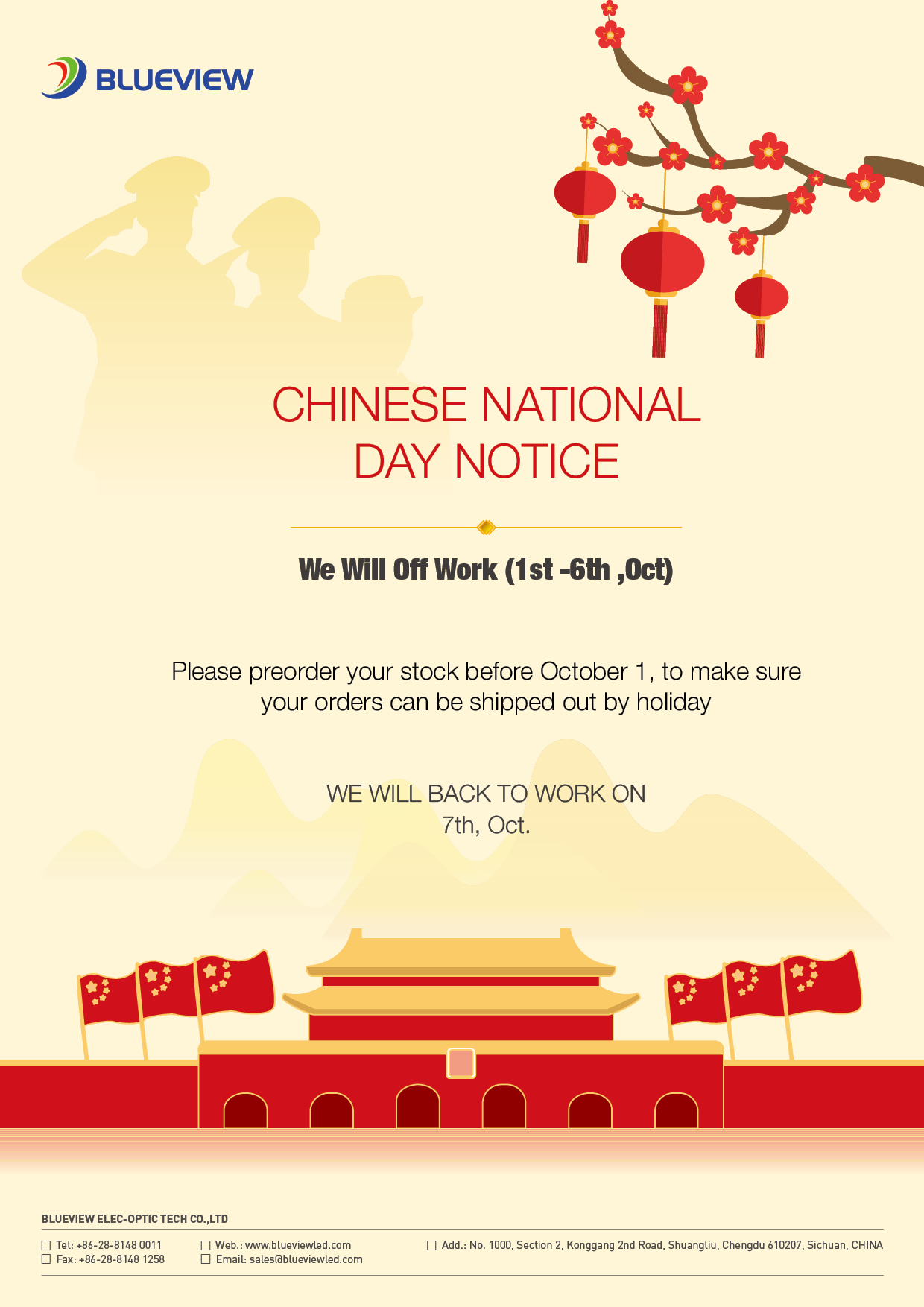 Blueview2021 National Day Notice